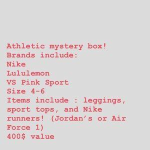 Athletic mystery box!!! Lululemon, Nike, and more!